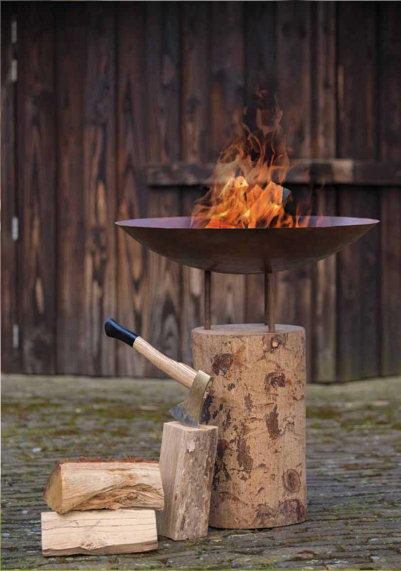 Premium Outdoor Red Fire ugunskura vieta